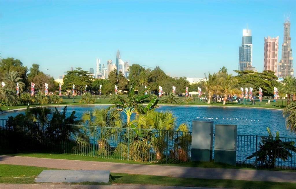حديقة الصفا من اجمل حدائق دبي الترفيهية