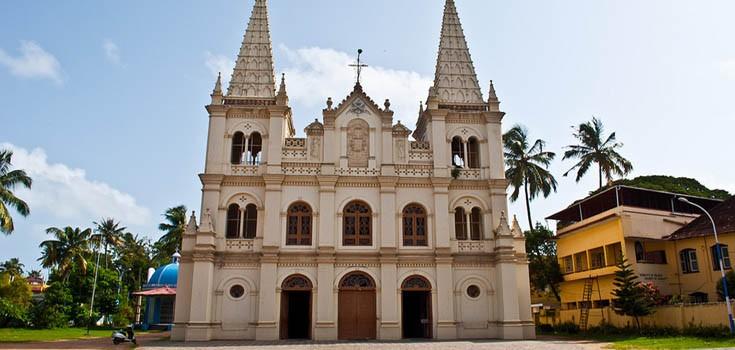 كاتدرائية سانتا كروز كيرلا - اماكن سياحية في كيرلا
