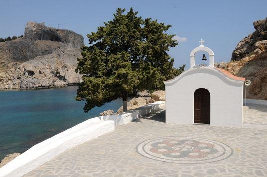 خليج القديس بولس جزيرة رودس اليونان