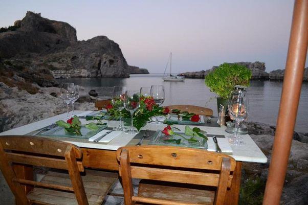 خليج القديس بولس من افضل الاماكن السياحية في رودس اليونانية