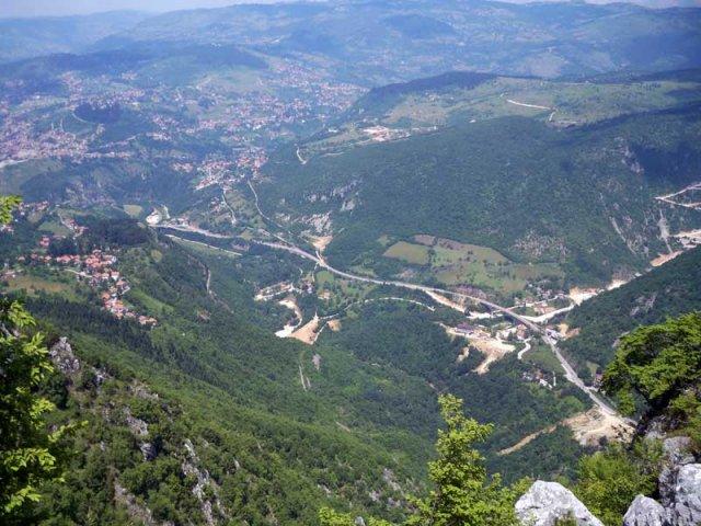 جبل تريبفيتش من افضل اماكن السياحة في سراييفو