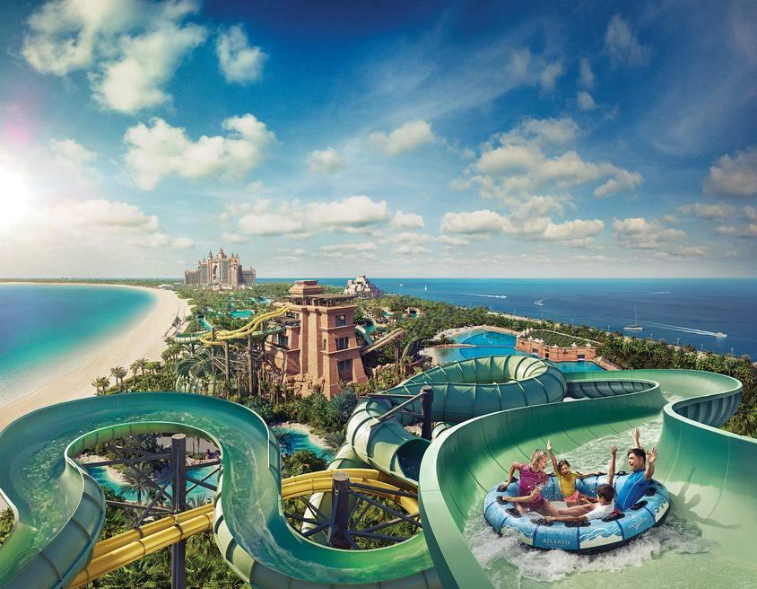 افضل 3 انشطة في حديقة أكوافنتشر المائية دبي الامارات رحلاتك