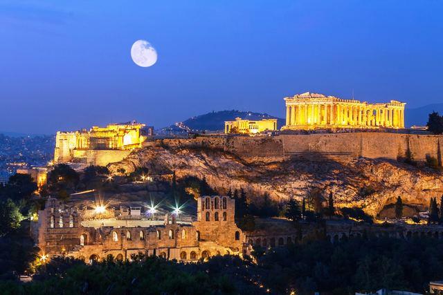 اثينا من اجمل مدن اليونان السياحية