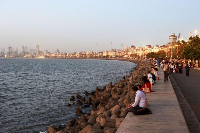 مارين درايف في مومباي