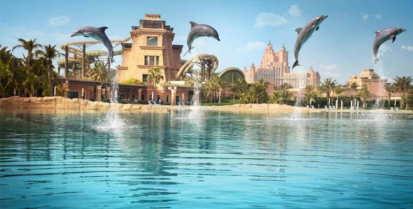 خليج الدلافين في دبي من اجمل الاماكن السياحية في الامارات