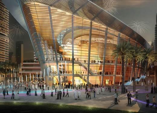 دار الاوبرا دبي من اجمل اماكن السياحة في دبي الامارات