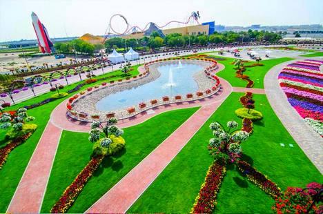 افضل 4 انشطة عند زيارة حديقة الزهور في دبي الامارات رحلاتك