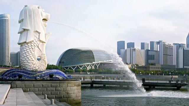 الميرليون بارك سنغافورة
