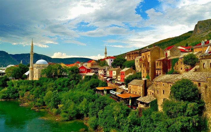 نهر نيريتفا من افضل اماكن السياحة في موستار البوسنة والهرسك