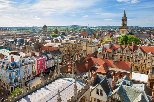 السياحة في مدينة اكسفورد انجلترا