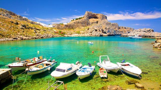 اهم مناطق سياحية في اليونان جزيرة رودس في اليونان