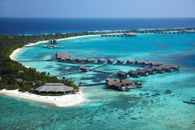 منتجع شانغريلا المالديف من افضل المنتجعات في المالديف لقضاء شهر العسل