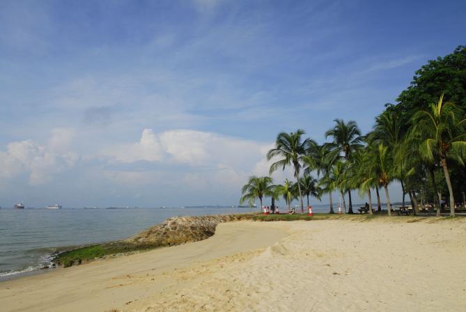منتزه الساحل الشرقي سنغافورة