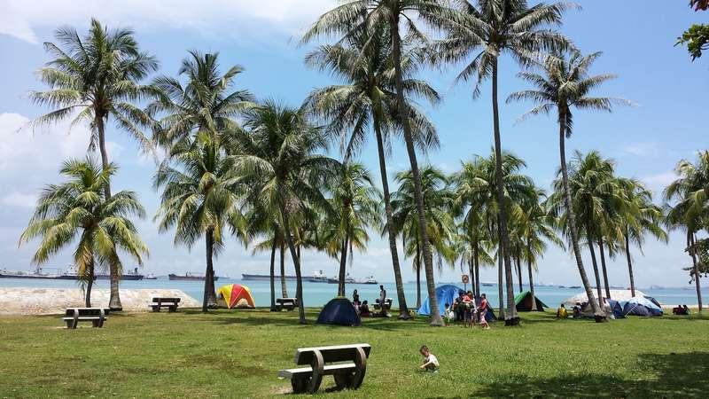 منتزه الساحل الشرقي في سنغافورة