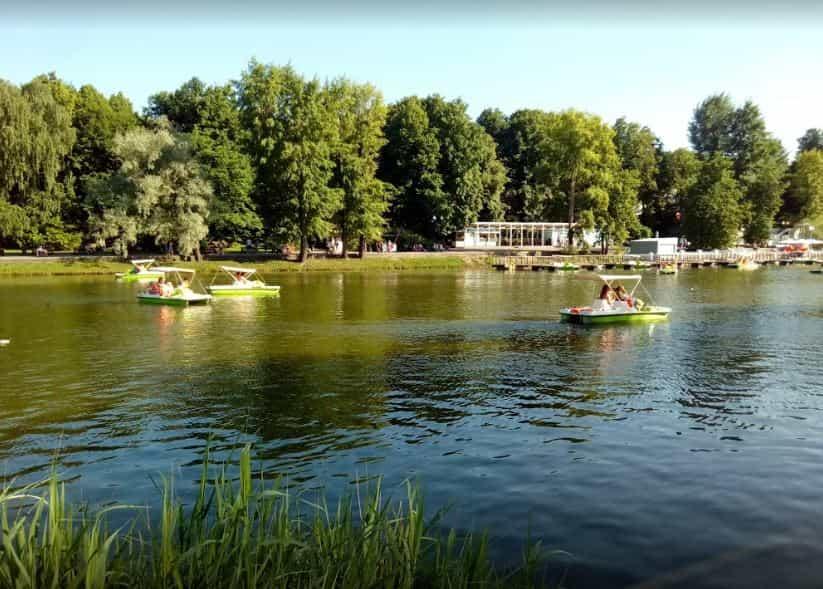 حديقة غوركي موسكو