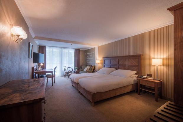 مساحات إقامة واسعة في فندق انترلاكن
