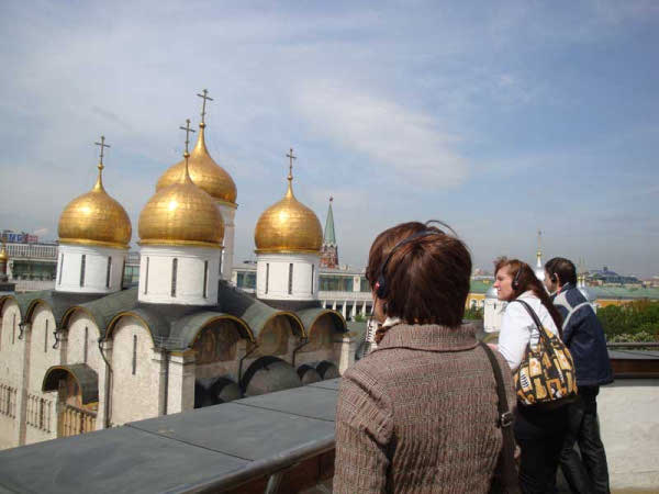 برج اجراس إيفان الكبير من افضل اماكن السياحة في روسيا