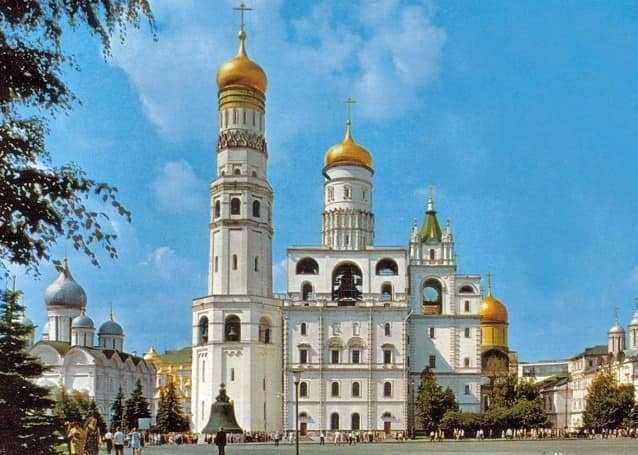 برج اجراس إيفان الكبير من اشهر معالم موسكو