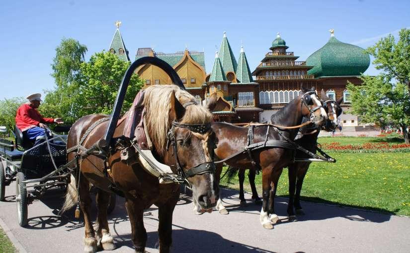 حديقة كولومينسكوي من اهم اماكن سياحية في موسكو