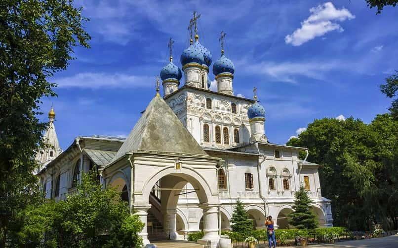حديقة كولومينسكوي موسكو
