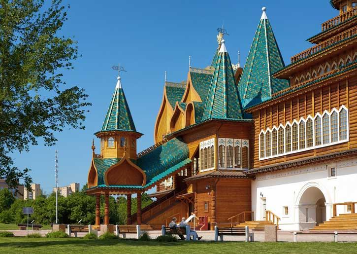 حديقة كولومينسكوي من افضل اماكن السياحة في روسيا موسكو