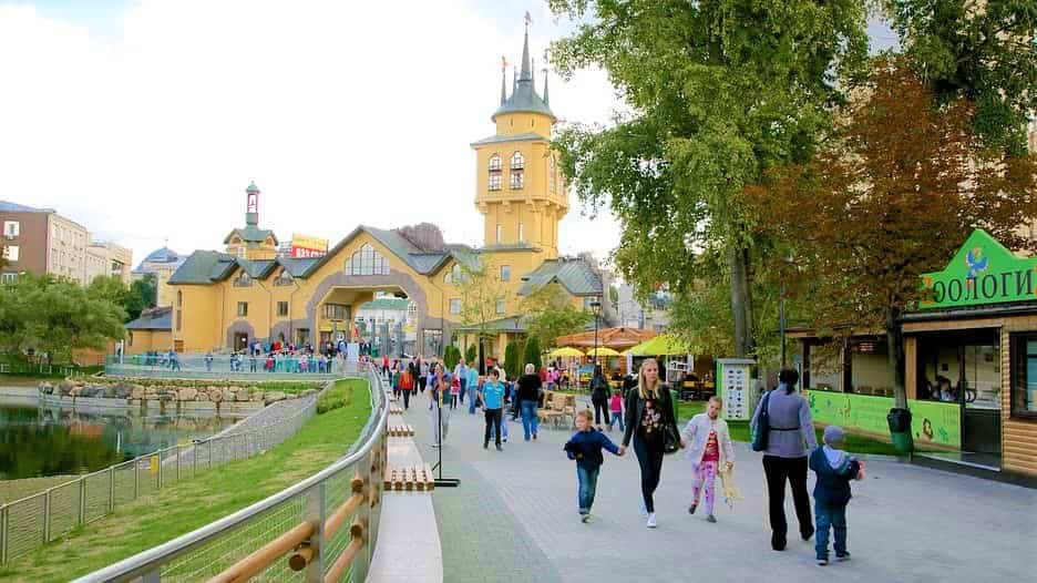 حديقة حيوان في موسكو