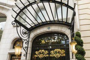 تقرير شامل ومفصل عن فندق ماريوت باريس