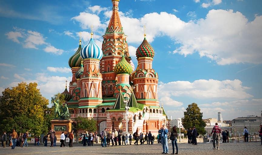 الميدان الاحمر في موسكو