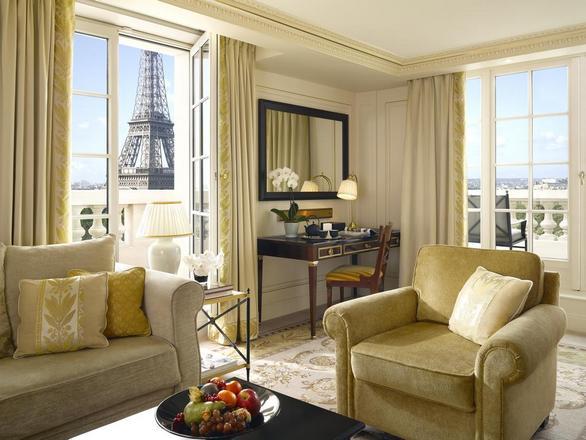 فندق شانغريلا باريس فرنسا من افضل فنادق مطلة على برج ايفل