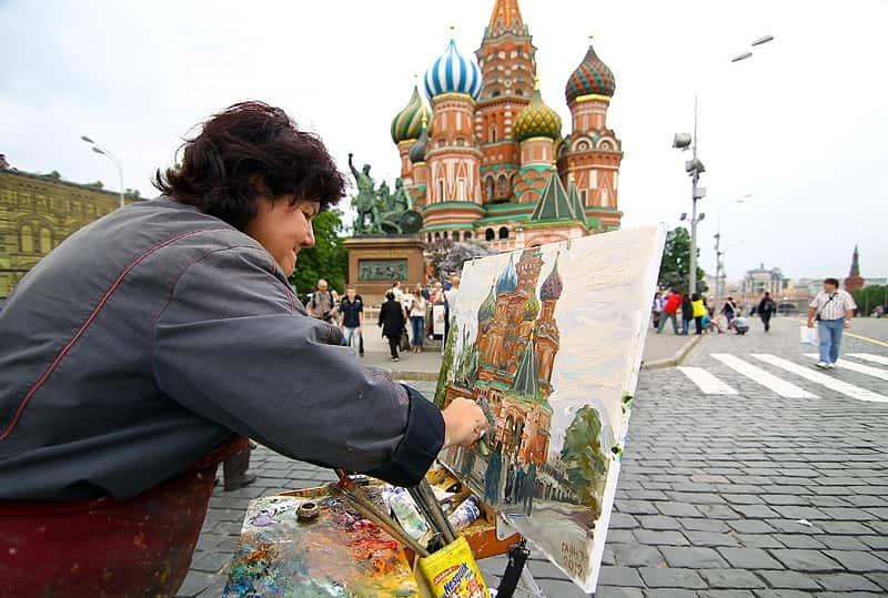 كاتدرائية القديس باسيل من افضل اماكن السياحة في روسيا موسكو