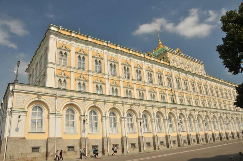 مبنى الكرملين موسكو