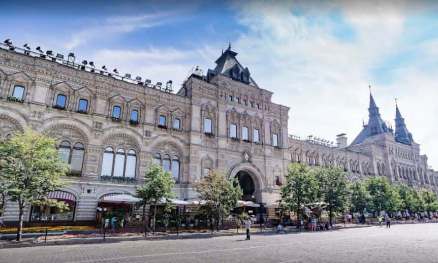 مبنى الكرملين من افضل الاماكن السياحية في موسكو