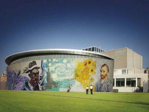 متحف فان جوخ من افضل اماكن السياحة في هولندا امستردام