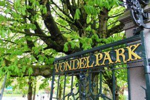 حديقة فوندل بارك في أمستردام