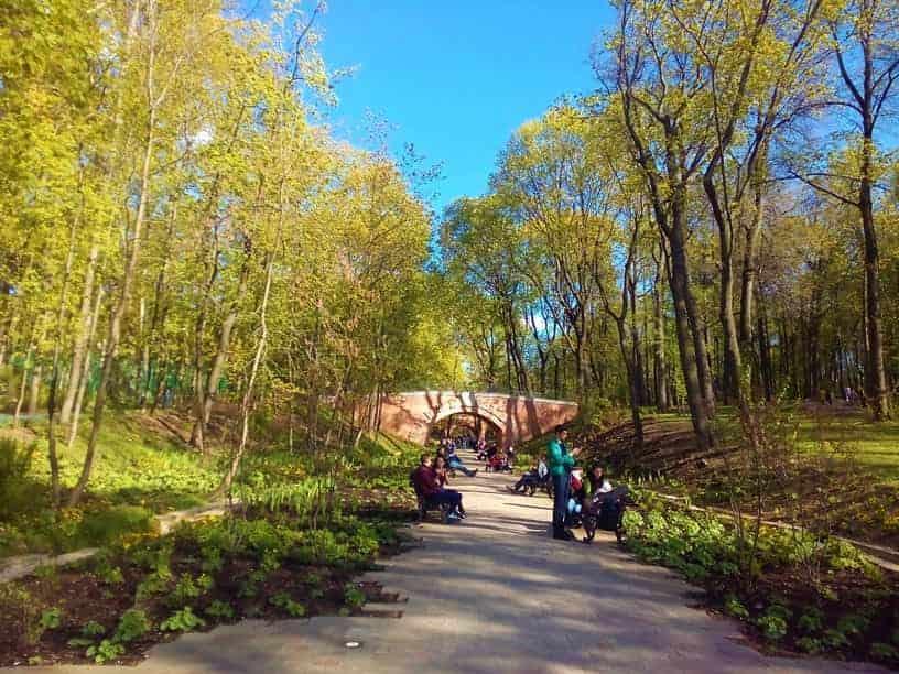 حديقة نيسكوشني من افضل الاماكن في موسكو سياحة