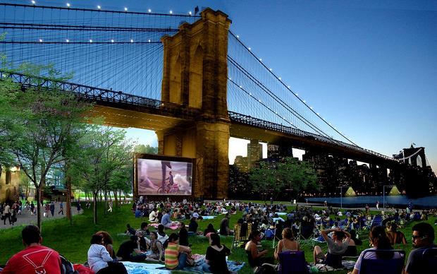 حديقة جسر بروكلين من اهم اماكن السياحة في نيويورك