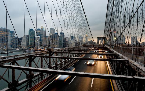 جسر بروكلين نيويورك