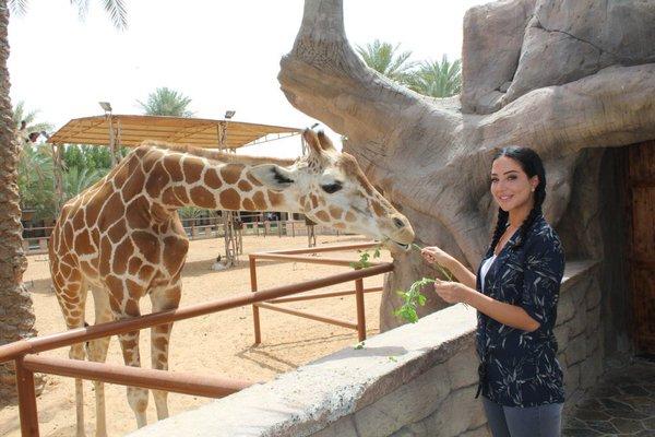 حديقة الحيوانات في ابوظبي