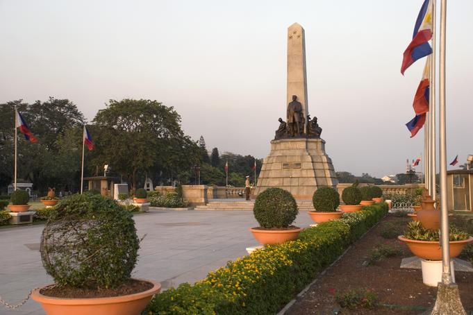 حديقة ريزال من اجمل الاماكن السياحية في مانيلا الفلبين