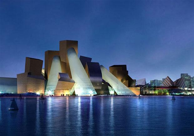 منارة السعديات من اهم مراكز السياحة في عاصمة الامارات ابوظبي