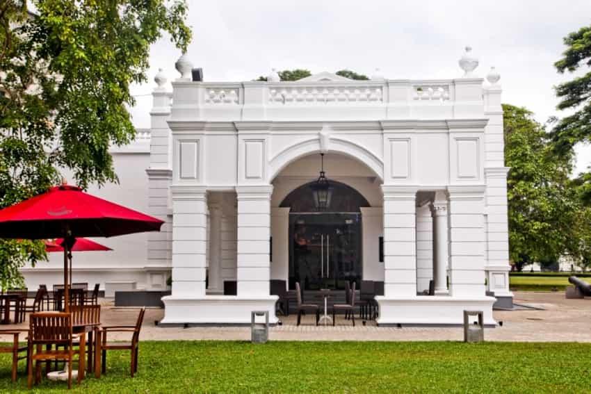 متحف كولومبو الوطني في مدينة كولومبو سريلانكا