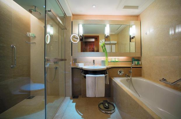 جميع الغُرف في فندق شانغريلا كوالالمبور مُجهّزة بالتجهيزات اللازمة.