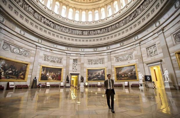 مبنى الكابيتول من اهم اماكن السياحة في واشنطن