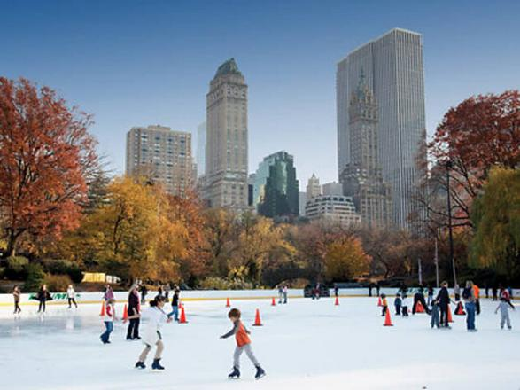 حديقة سنترال بارك في امريكا نيويورك