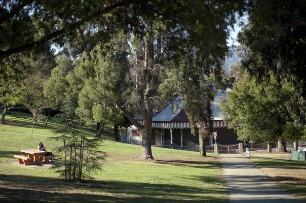 منتزه غريفيث في مدينة لوس انجلوس الامريكية