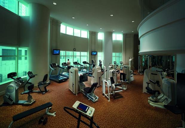 يضم فندق جي دبليو ماريوت كوالالمبور صالة جيم مُجهّزة.