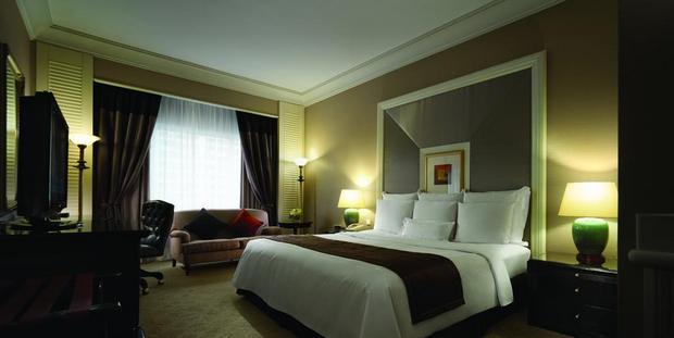 تتمتّع غُرف فندق جي دبليو ماريوت كوالالمبور بمرافق تضمن الراحة للنُزلاء.