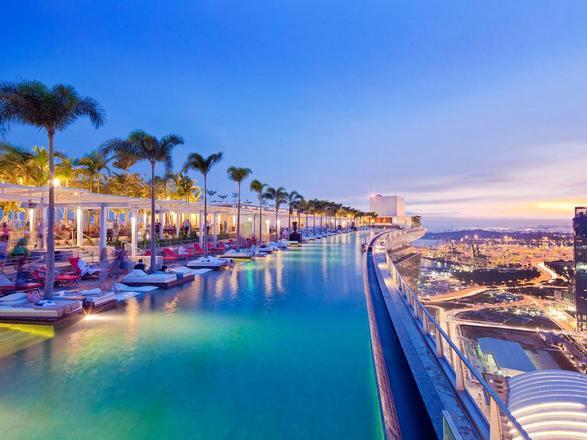 فندق مارينا باي ساندز سنغافورة