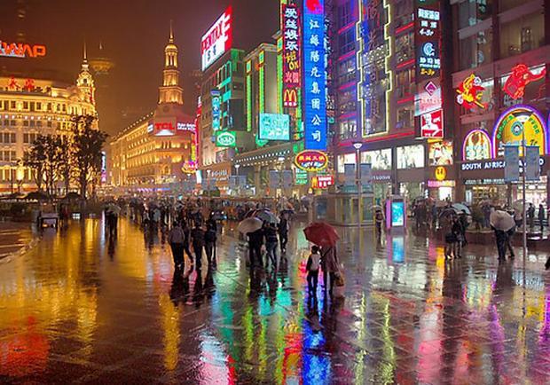 اسواق شنغهاي شارع نانجينغ