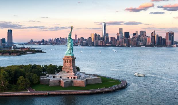 تمثال الحرية نيويورك امريكا